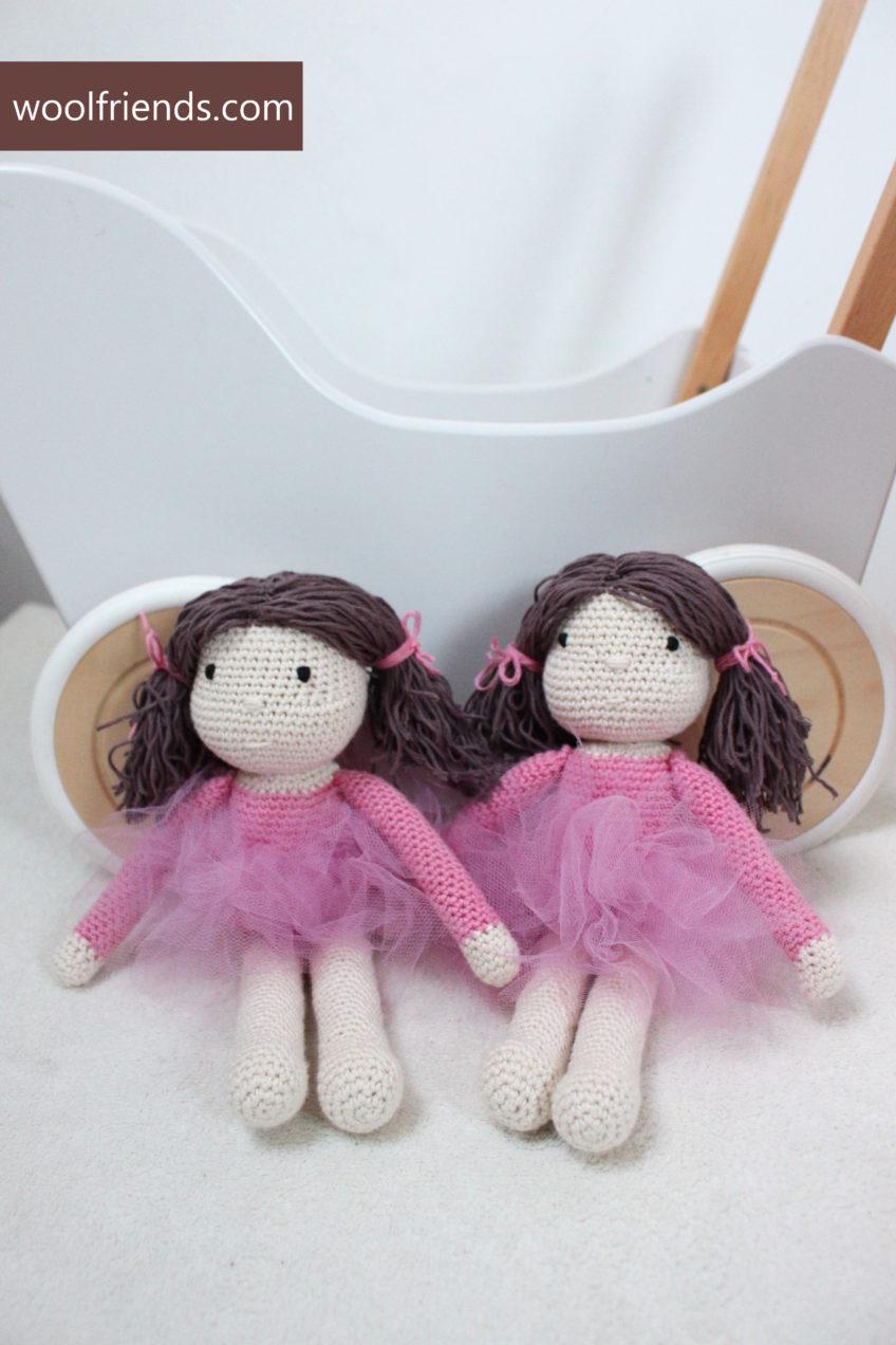 W różach i tiulach – lalki baletnice