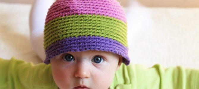 Prosta czapka – Twoja pierwsza szydełkowa robótka!