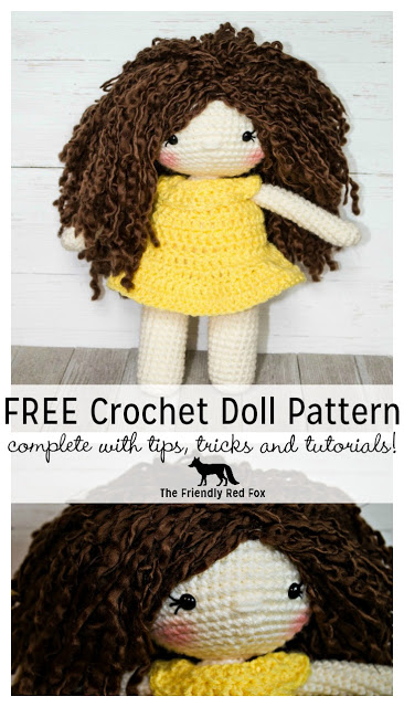 FREE crochet doll pattern with tips and tricks