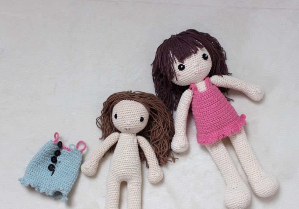 jak robic szydelkowe lalki