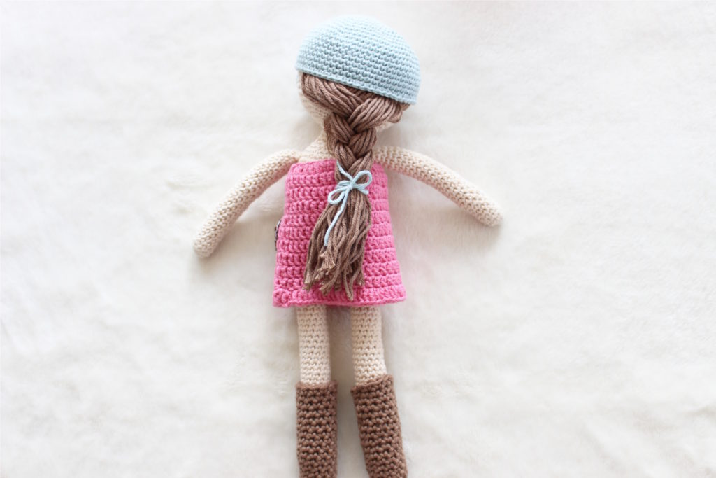 lalka dla koniary tylem warkocz