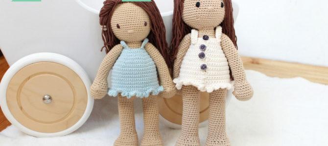 Wzór szydełkowej lalki nareszcie dostępny!