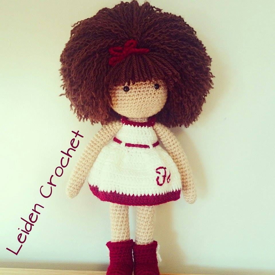 leiden crochet_lala biala sukienka i afro