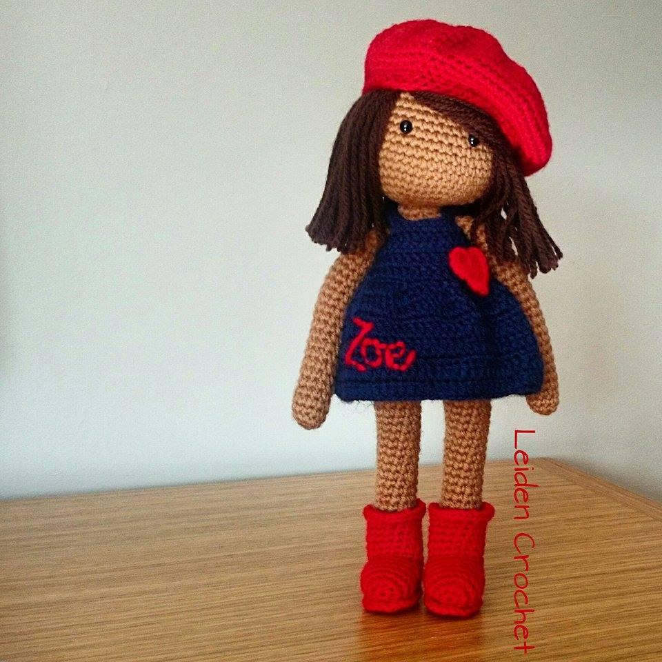 leiden crochet_lala w czerwonych butach i berecie