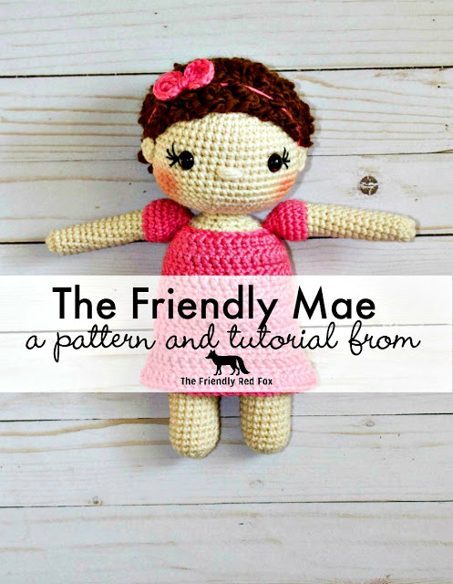 Friendly Mae Crochet Doll