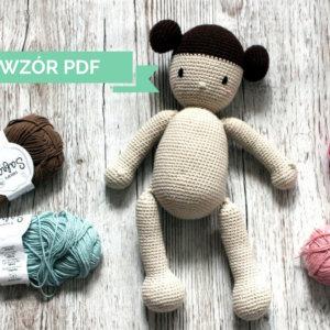 Lalka bobas z pieluszką – wzór PDF