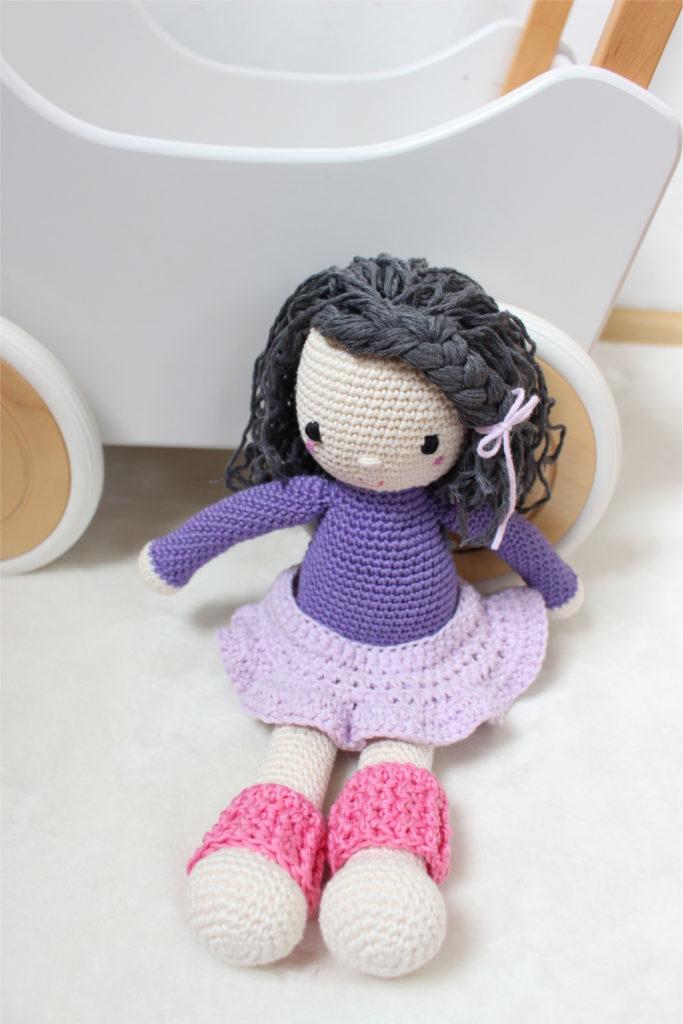 Jak zrobić na szydełku spódniczkę dla lalki