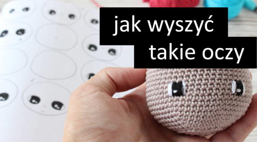 Jak łatwo wyszyć oczy lalce?