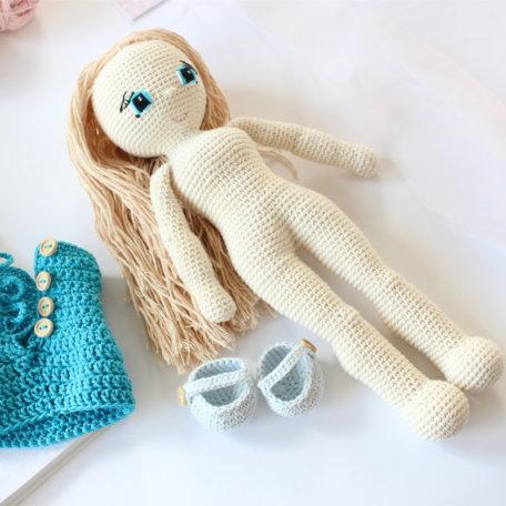 a lalka szydelkowa zmn