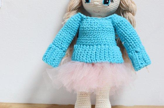 Jak zrobić spódniczkę tiulową dla lalki
