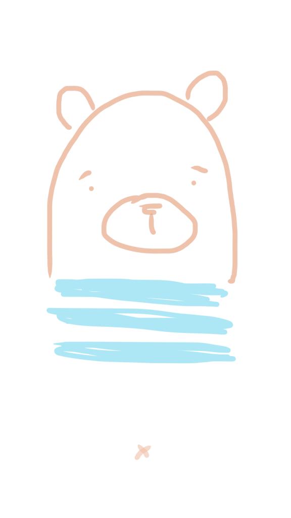 rysunkowy miś